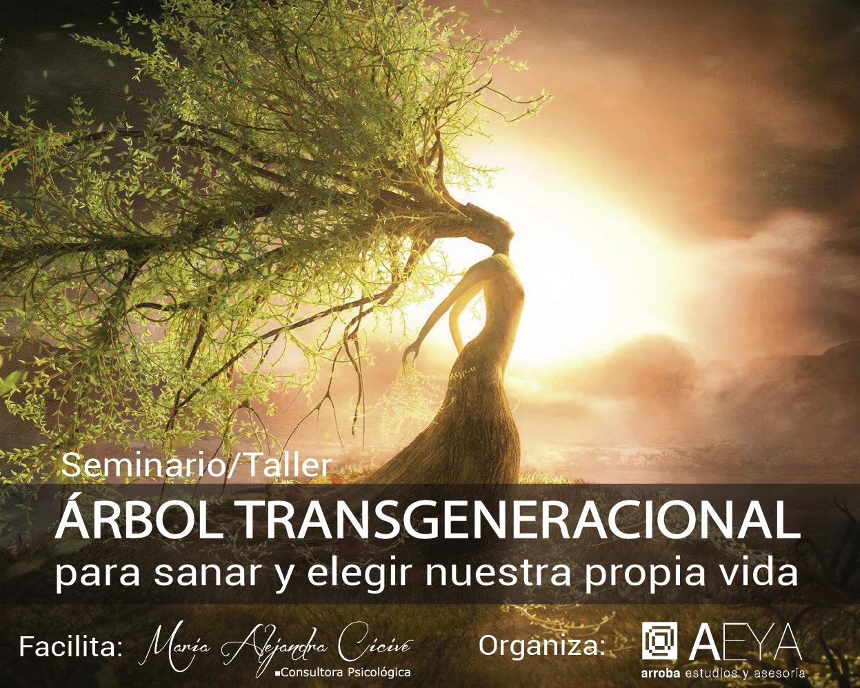 SEMINARIO/TALLER - ÁRBOL TRANSGENERACIONAL