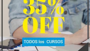 35%Off en TODOS los CURSOS